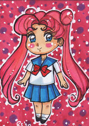 ACEOno66 - Chibi Prototype Sailor Moon