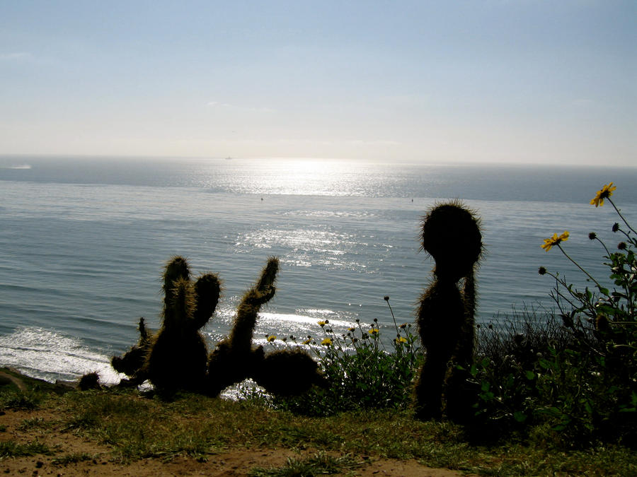 Desert meets the Ocean by LunaAuryn