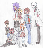 Afton family by jj-the-hamster
