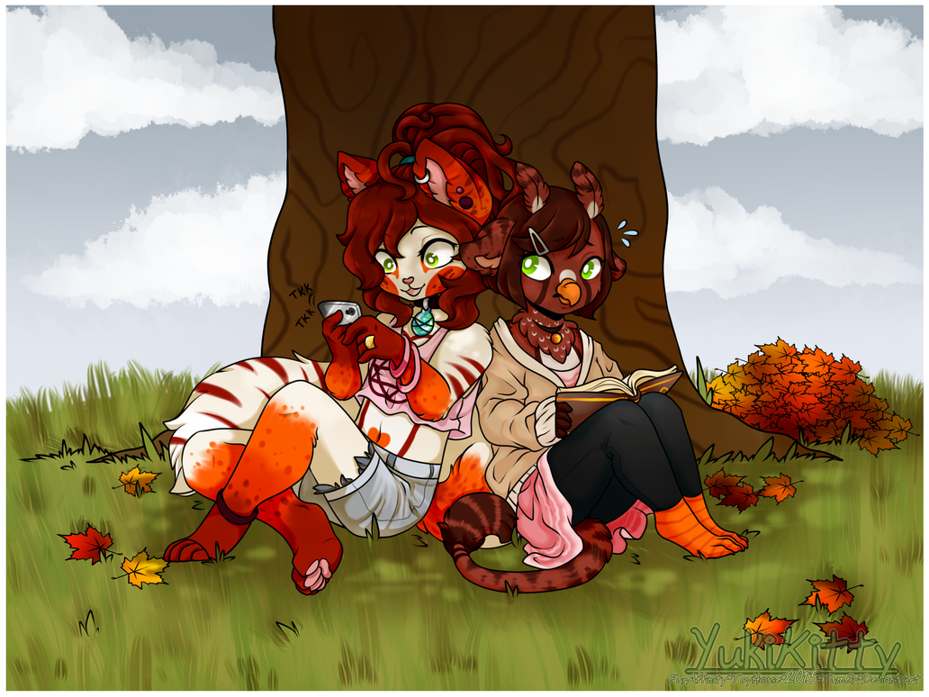 Cozy Autumn Days by YukiKitty