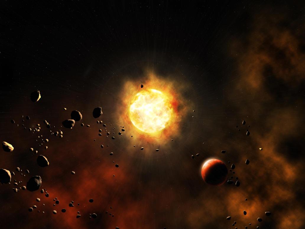 SpaceSunset by joe118395