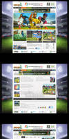 ICC World Cup Game Website