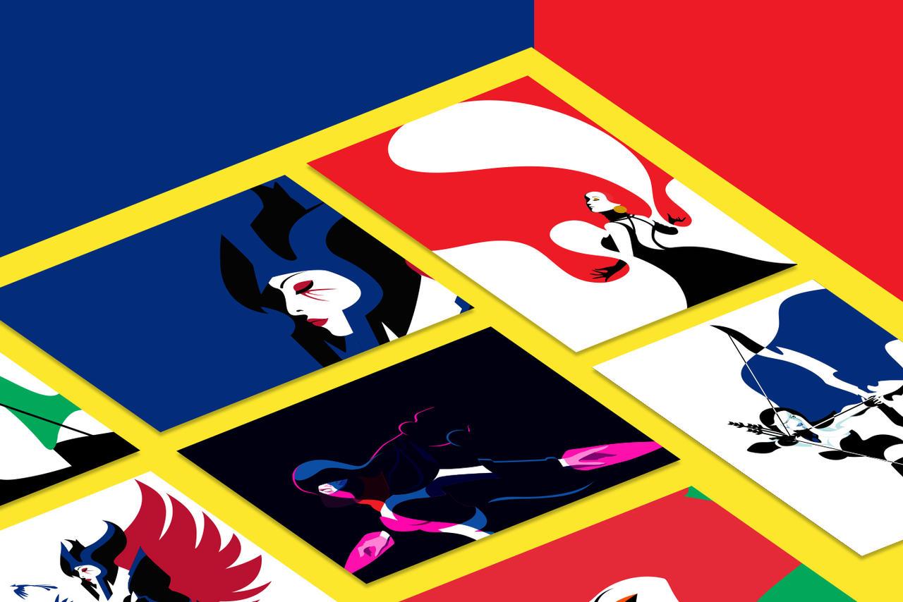 Dota 2 fan art - Posters