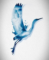 Watercolor Bird by New-Creations-21