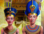 Nefertiti and Pharaoh
