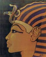 Tutankhamun In Profile by snowsowhite