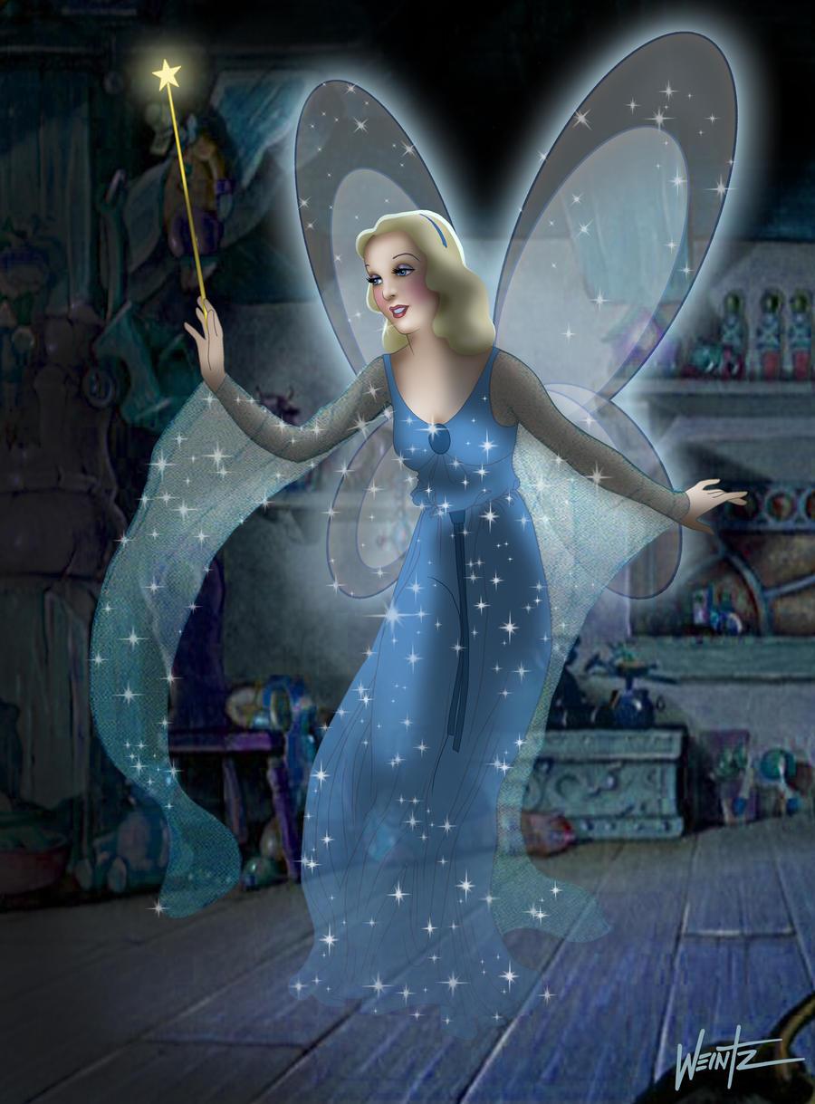 The Blue Fairy ala Tenggren by snowsowhite