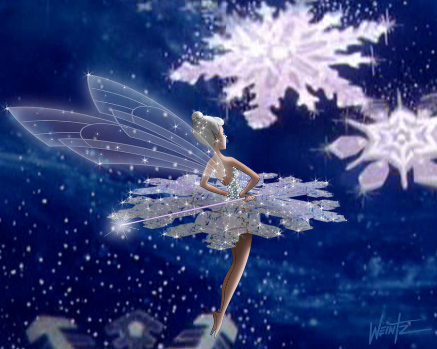 Fantasia's Snowflake Fairy by snowsowhite