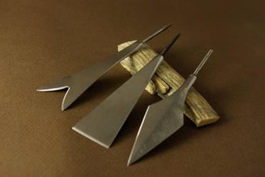 Arrow Heads by Haraldr32