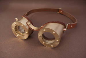 Steampunk Goggles with adjustable Iris