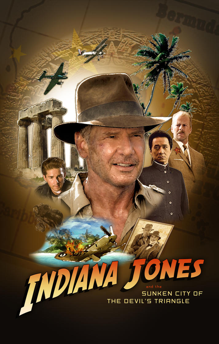 Movie Poster jackie chan movie poster : Indiana Jones 5 by MrXenomorph on DeviantArt