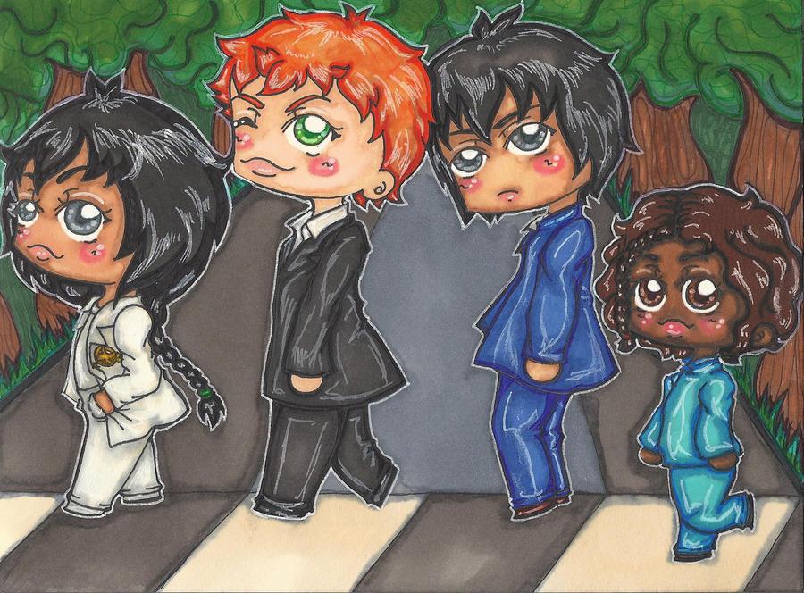 HG Beatles Crossing by Shinku-chan
