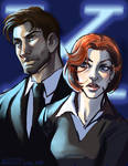 scully + mulder