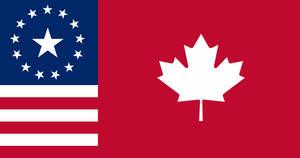 Flag of U.S. Annexed Canada