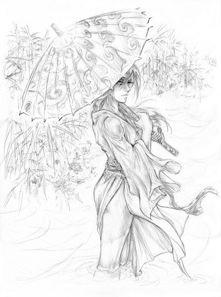 Bamboo Swamp by valkyriechan