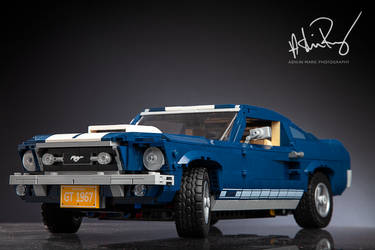 1967 LEGO Mustang GT by Film-Exposed