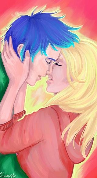 kiss the girl by viria13