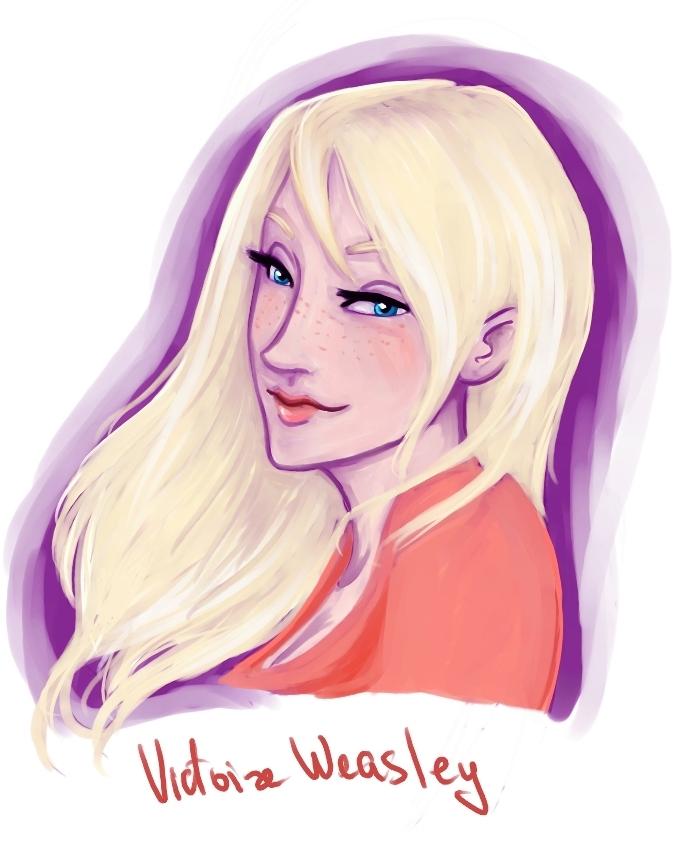 Victoire Weasley by viria13