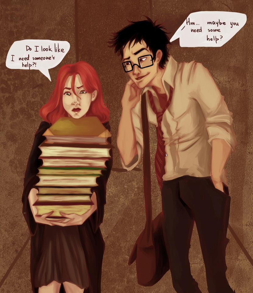 these muggle habits... by viria13