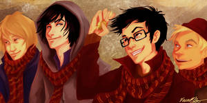 marauders. by viria13