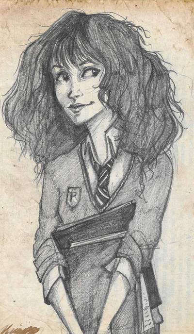 Hermione Granger by viria13