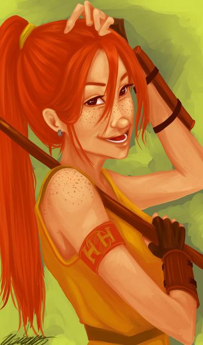 Ginny Weasley by viria13