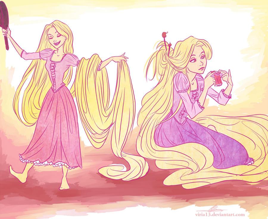 tangled by viria13