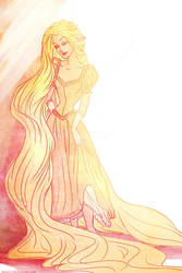 one more Rapunzel by viria13
