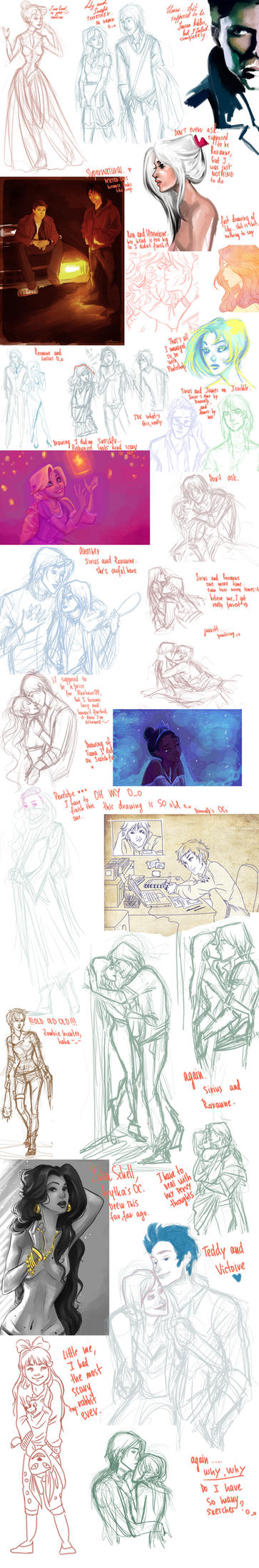 another sketch DUMP. by viria13