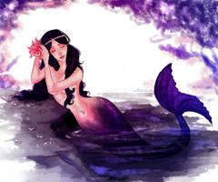 a mermaid by viria13