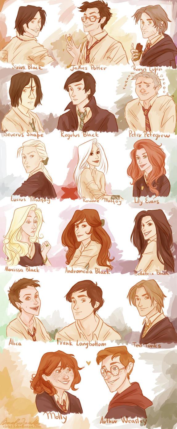 HP:marauders' generation by viria13