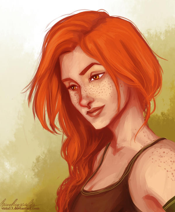 How Ginny Should Have Looked By Viria13 On Deviantart