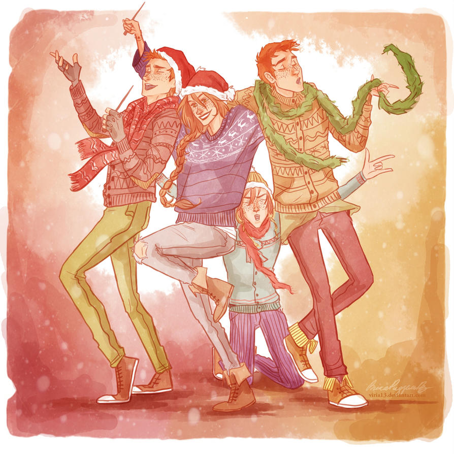 A Very Weasley New Year by viria13