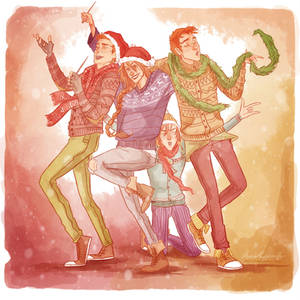 A Very Weasley New Year