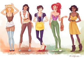 fashion princesses P1 by viria13
