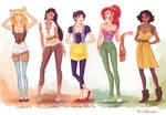 fashion princesses P1
