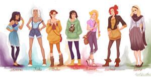 fashion princesses P2 by viria13