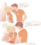 Percy's seducing skills