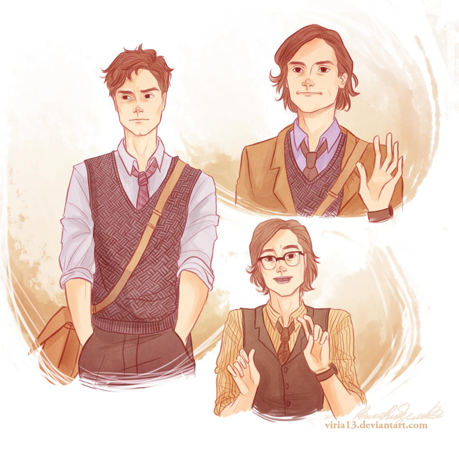 Spencer Reid by viria13