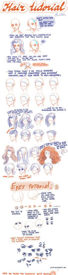 hair-eyes tutorial