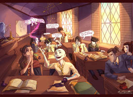 avatarded Hogwarts