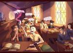 avatarded Hogwarts by viria13