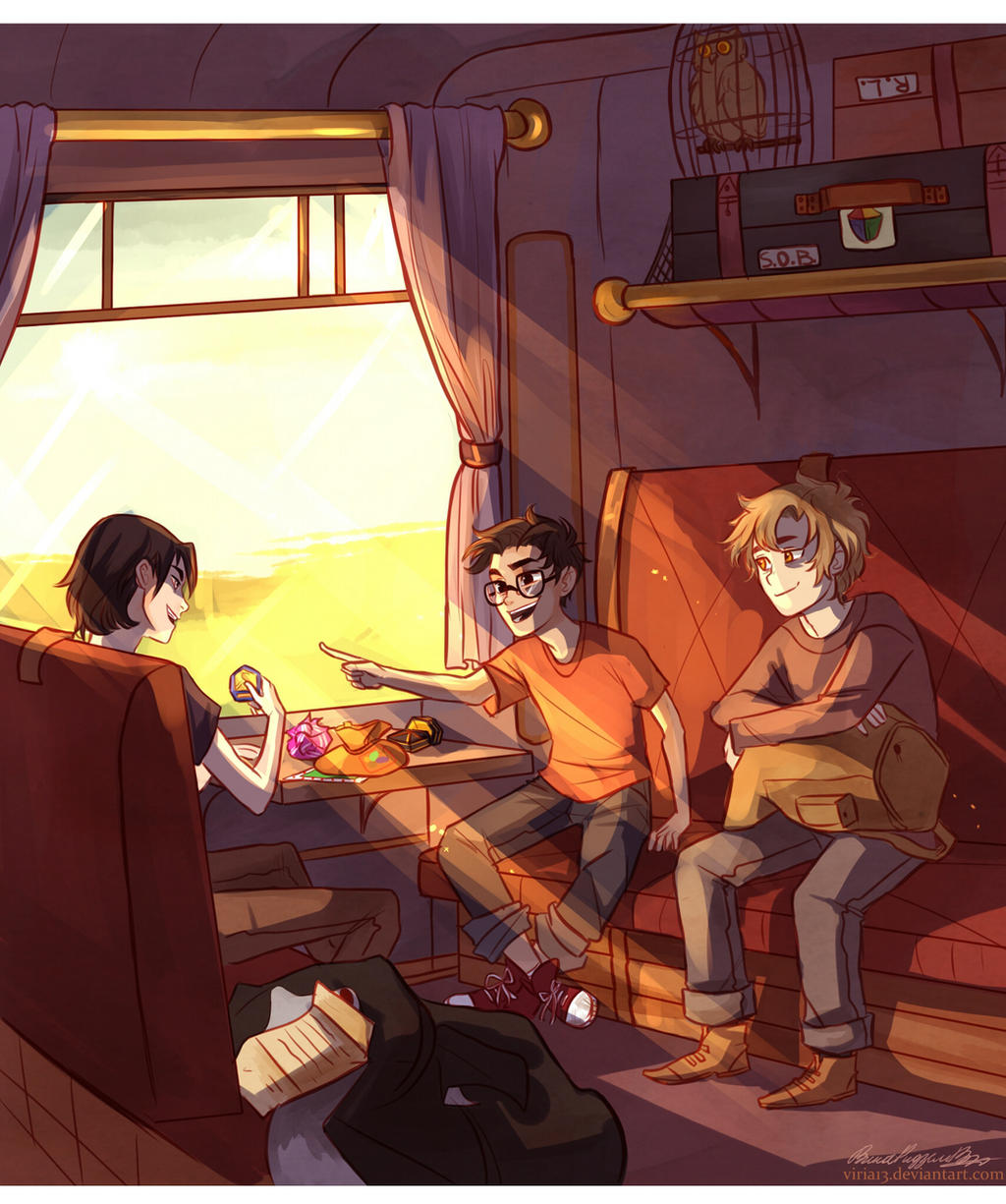 sun-filled memories by viria13