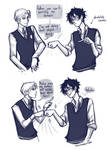 in which Harry and Draco become bros