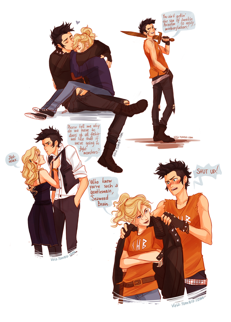 If Percy was a punk by viria13 on DeviantArt  If Percy was a ...