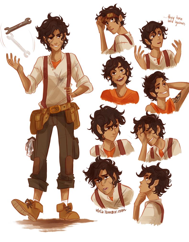 Repair Boy by viria13
