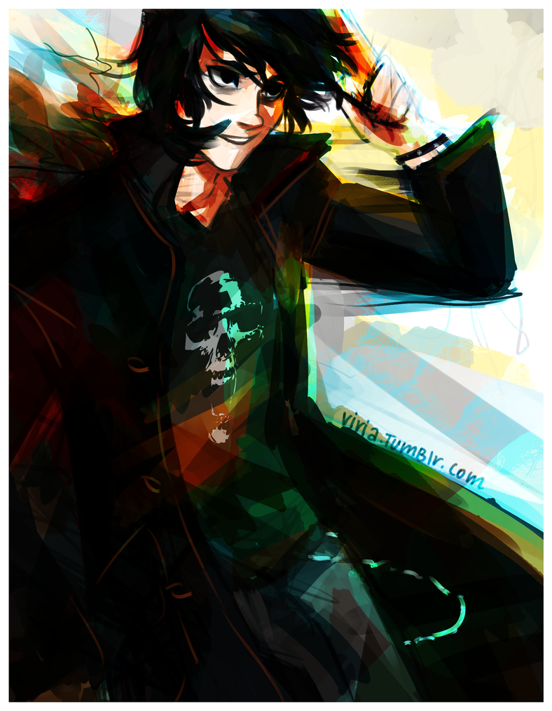 Son of Hades by viria13