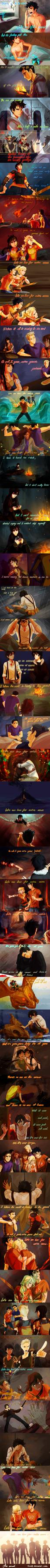 Heroes of Olympus-How far We've come by viria13