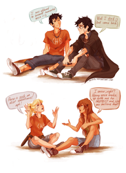 When heroes meet....