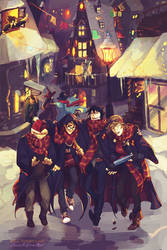 Hogsmeade time by viria13